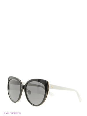 Солнцезащитные очки CHRISTIAN DIOR. Цвет: черный
