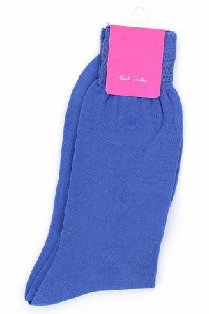 Носки Paul Smith. Цвет: голубой