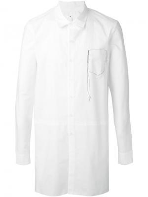 Классическая рубашка Damir Doma. Цвет: белый