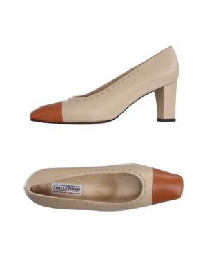 Туфли VALLEVERDE. Цвет: коричневый
