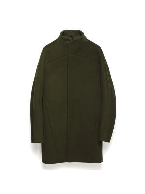 Пальто Ghost Khaki FUSION. Цвет: хаки