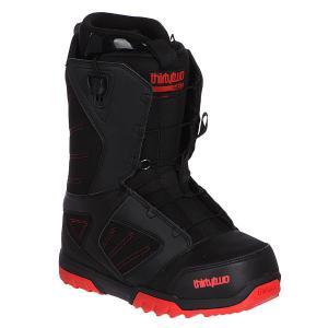 Ботинки для сноуборда  Groomer Ft Black/Red Thirty Two. Цвет: черный