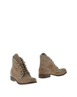 Полусапоги и высокие ботинки OVYE' by CRISTINA LUCCHI. Цвет: хаки