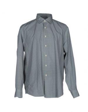 Pубашка CELLINI. Цвет: светло-зеленый