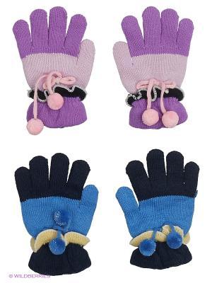 Перчатки FOMAS. Цвет: фиолетовый, розовый, синий