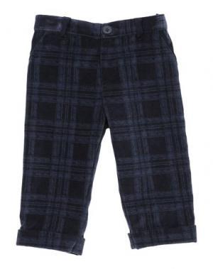 Повседневные брюки BABY GRAZIELLA. Цвет: темно-синий