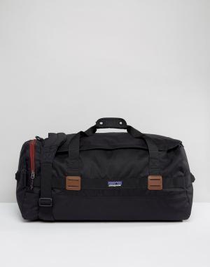 Patagonia Черная сумка Arbor 60L. Цвет: черный