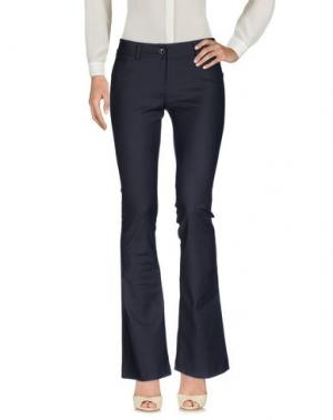 Повседневные брюки TRY ME. Цвет: стальной серый