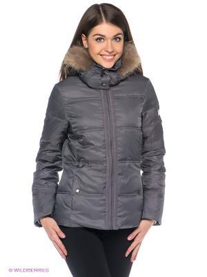 Куртка RedSkins. Цвет: серый