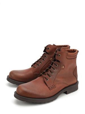 Ботинки BERTEN. Цвет: коричневый