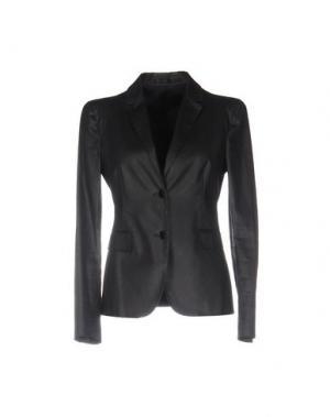 Пиджак MAURO GASPERI. Цвет: черный