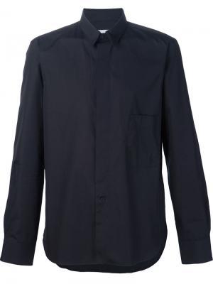 Рубашка со съемным воротником Lemaire. Цвет: чёрный