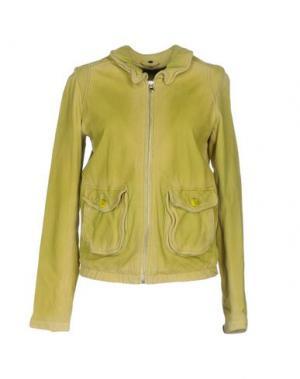 Куртка FREAKY NATION. Цвет: кислотно-зеленый