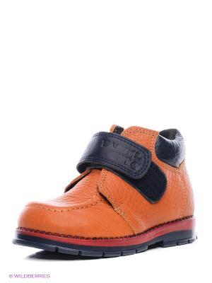 Ботинки ТАШИ ОРТО. Цвет: оранжевый