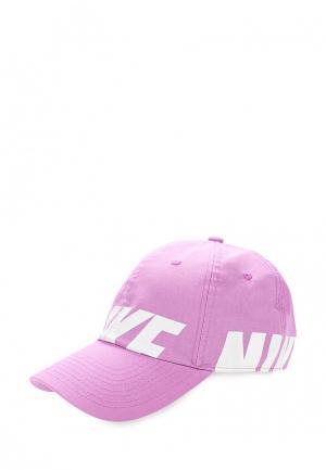 Бейсболка Nike. Цвет: фиолетовый