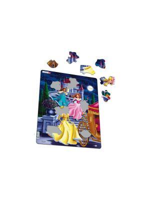 Пазл Принцессы LARSEN AS. Цвет: синий, зеленый, голубой, оранжевый, желтый, белый