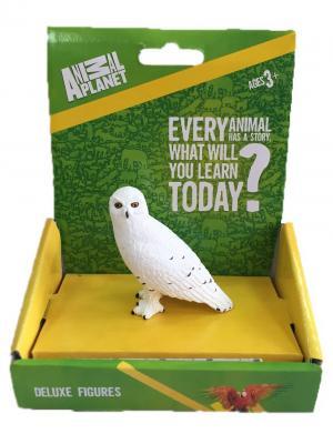Фигурка Mojo (Animal Planet) в индивидуальной упаковке - Полярная (белая) сова (S). Цвет: белый