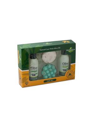 Герболив подарочный набор №4 Madis S.A.. Цвет: оливковый