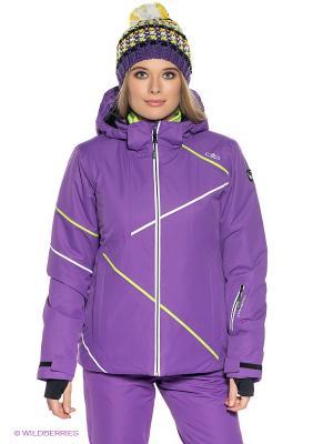 Куртка CMP. Цвет: фиолетовый