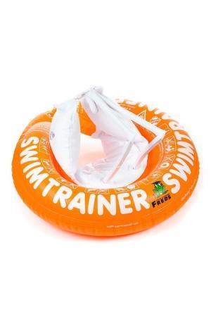 Оранжевый надувной круг FREDS SWIM ACADEMY. Цвет: оранжевый