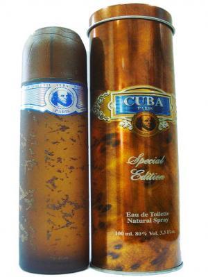 Cuba М Blue туалетная вода 100 мл ТД Покровка. Цвет: коричневый
