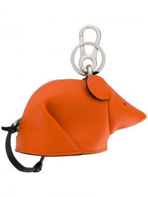 Подвеска на сумку Mouse Loewe. Цвет: жёлтый и оранжевый