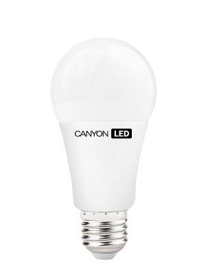 Светодиодная лампочка A65, E27, 12W, 4000K CANYON. Цвет: белый
