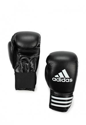 Перчатки боксерские adidas Combat. Цвет: черный