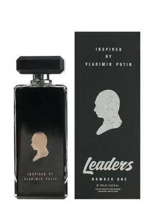 Туалетная вода Leaders Number One. Цвет: черный