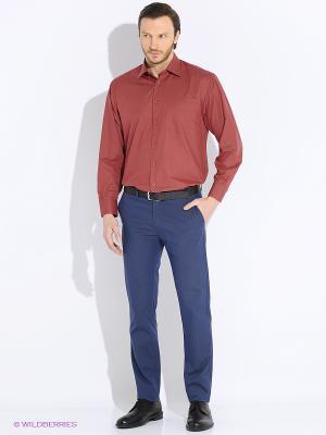 Рубашка Vinzo Vista. Цвет: бордовый