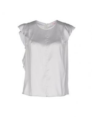 Блузка JUCCA. Цвет: светло-серый
