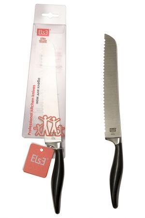 Нож для хлеба Else. Цвет: серебряный