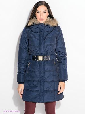 Пальто FRACOMINA. Цвет: синий