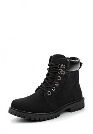 Ботинки TT. Цвет: черный