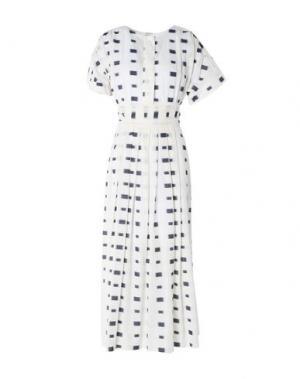 Длинное платье GARAGE NOUVEAU. Цвет: слоновая кость