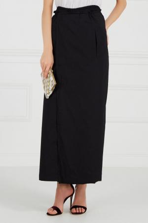 Черные брюки со складками Cyrille Gassiline CG. Цвет: черный