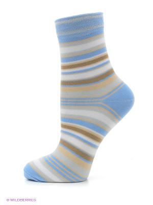 Носки, комплект 5 пар Alla Buone. Цвет: голубой