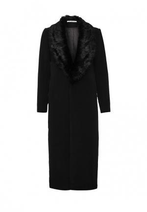 Пальто GLAMOROUS. Цвет: черный