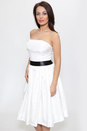 Платье Diva. Цвет: white and black