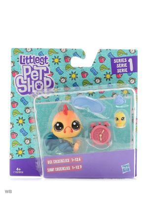Набор парочки Littlest Pet Shop. Цвет: черный, красный, синий