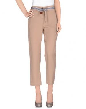 Повседневные брюки ALYSI. Цвет: голубиный серый