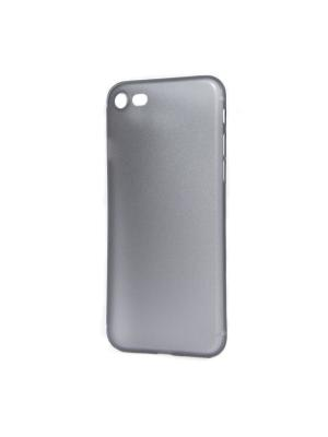 Крышка задняя для Iphone 7 ультра тонкая IQ Format. Цвет: серый