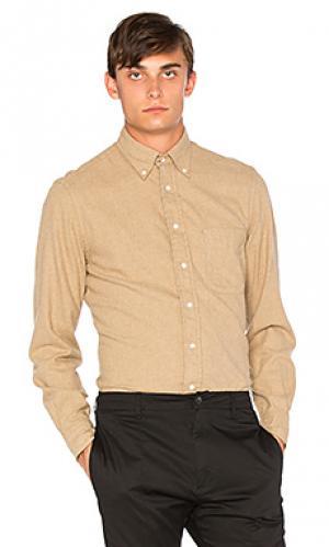 Рубашка Gitman Vintage. Цвет: цвет загара