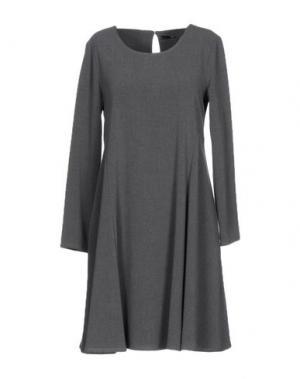 Короткое платье B.YU. Цвет: серый