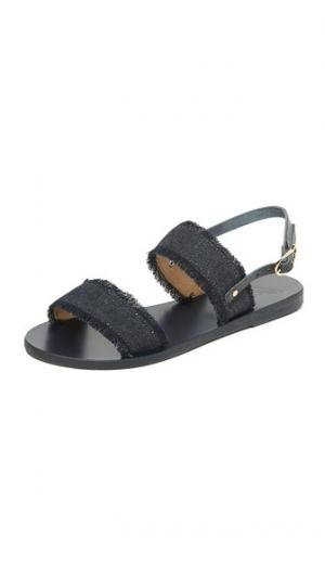 Сандалии Clio Ancient Greek Sandals. Цвет: темный деним