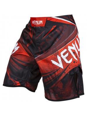 Шорты ММА Venum Galactic Fightshorts Black/Red. Цвет: красный, черный