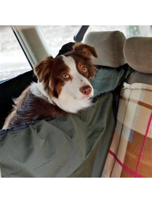 Автогамак OSSO Car Premium на 1/3 сидения OSSO-fashion. Цвет: серый
