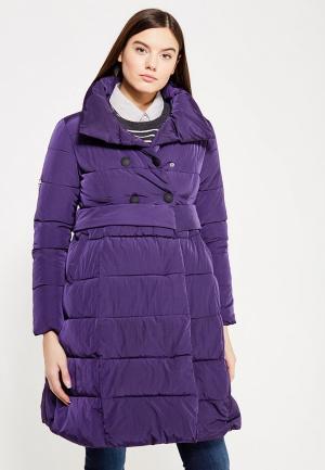 Куртка утепленная Mazal. Цвет: фиолетовый