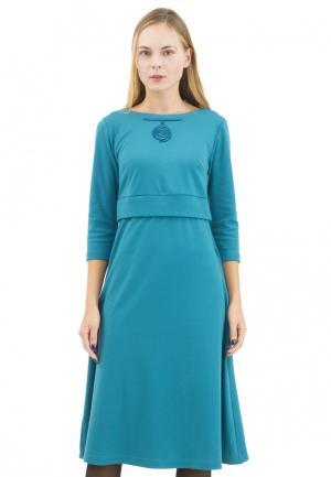 Платье Doctor E. Цвет: бирюзовый