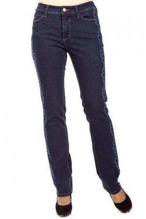 Модные джинсы Pezzo. Цвет: синий